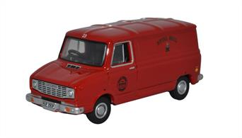 Oxford Diecast 76SHP011 1/76th Sherpa Van Royal Mail