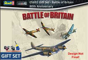 Revell 05691 1/72nd Battle of Britain Gift Set