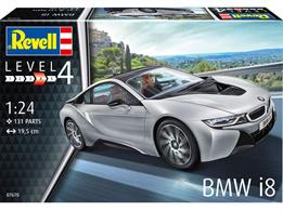 Revell 07670 1/24 BMW i8 Car KitNumber Of Parts 131  Length 195mm