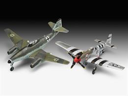 Revell 03711 1/72nd Me262 & P-51B Aircraft Kits Combat Set