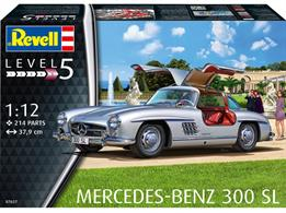 Revell 07657 1/12th Mercedes 300 SL Car KitNumber of Parts 214   Length 379mm