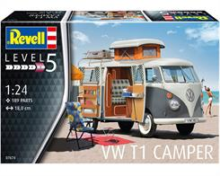 Revell 07674 1/24th VW T1 Camper KitNumber Of Parts 189  Length 180mm