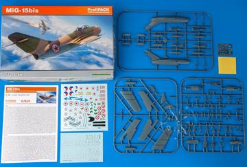 ProfiPACK edition kit of Soviet Cold War jet aircraft MiG-15bis in 1/72 scale