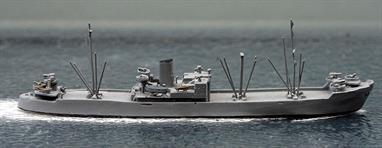 A 1/1250 scale second-hand model of the German target vessel in 1944 by Trident T2090. The model is in overall grey and in very good condition, see photograph.