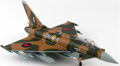 Hobby Master HA6607 Eurofighter Typhoon Battle of Britain 75th Anniversary ZK349 RAF 2015 Full Loaded Version 1/72nd