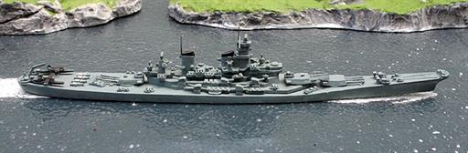 Delphin D60 USS New Jersey BB62 from 1943-45 1/1250