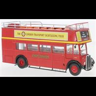 IXO BUS018 1/43rd AEC Regent RT Red London Transport 1950