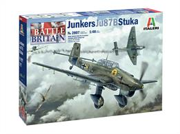 Italeri 2807 1/48th Ju-87B Stuka Battle of Britain 80th Anniversary Kit