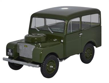 Oxford Diecast 43TIC002 1/43 Land Rover Tickford Two Tone Bronze Green