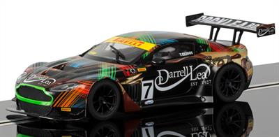 Tony Quinn is a well-known and successful competitor in the Australian GT championship. He raced this colorful Aston GT3 in the 2013 season to a number of good results.