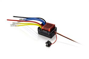 HOBBYWING QUICRUN 0880 DUAL MOTOR BRUSHED ESC (80A) WPROOF TWO SETS OF OUTPUT WIRES