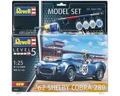 Revell 67669 1/25th AC Cobra 289 Car Model Set
