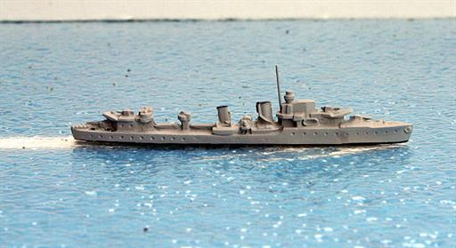 Secondhand Mini-ships Ensign M03 British H-class destroyer (ex-Brazilian) 1939-40 1/1200