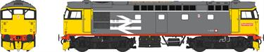 Class 26 Railfreight Red Stripe with White Cantrail Stripe Unnumbered