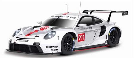 Burago B18-28013 1/24th Porsche 911 RSR GT Diecast Car Model