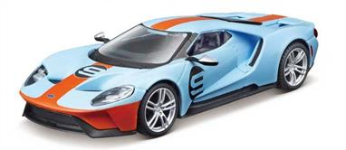 Burago B18-42028 1/32nd Ford GT Diecast Model
