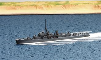 A 1/1250 scale second-hand model of JMSDF Akibono by Hai148. This model is in good condition, see photograph.
