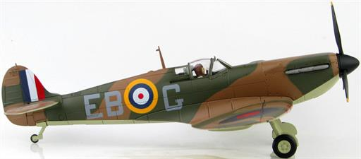 Hobby Master HA7815 Spitfire Mk1 Battle of Britain Eric Lock WW2 Fighter Aircraft Model 1/48