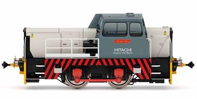 Locomotive build No. 10089 was constructed in 1962 before undergoing a complete refurbishment in 2007 to be delivered to Hitachi for shunting work at Ashford, primarily involving the high speed class 395 'Javelin' EMUs. The locomotive was named after the chairman of Hitachi Europe, 'Chiaki Ueda'.