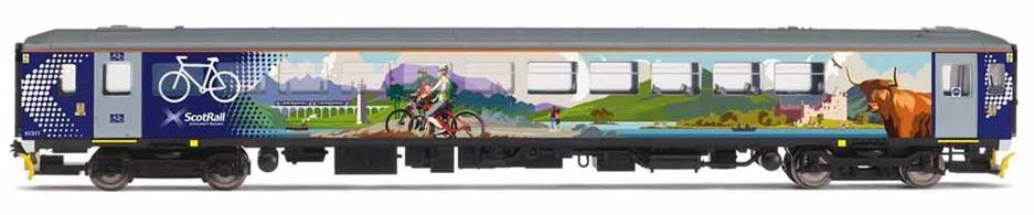 In 2019/2020, five former GWR 153s moved from Northern to Abellio ScotRail for use on the West Highland Line attached to Class 156s as 'active travel' carriages. These units have had their interiors heavily modified to carry up to 20 bicycles, along with large bags and sports equipment