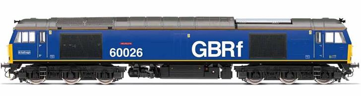 On 2 October 2019, in partnership with Beacon Rail Leasing, GBRf released the newly named 60026 Helvellyn into traffic wearing Beacon Rail's Royal Blue livery, with GBRf branding. 60026 was named Helvellyn after one of the original Class 44 Peak locomotives and the style of the locomotive's new nameplate reflected that heritage.