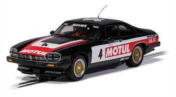 Available for the first time from Scalextric this new tool Jaguar is a sure-fire winner in any touring car race at your local circuit or at home.