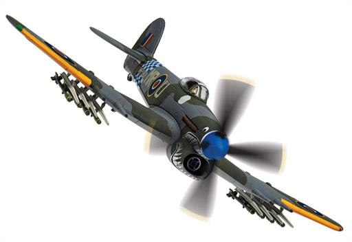 Corgi AA36513 Hawker Typhoon Sharkmouth 1/72