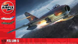 Airfix A03092 1/72nd LIM-5 Aircraft KitNumber of Parts 87