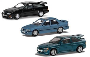 Ford RS Set - Sierra RS Cosworth Sierra Sapphire RS Cosworth and new tool Escort Mk5 RS Cosworth
