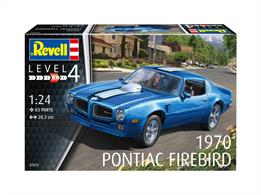 Revell 07672 1/24th 1970 Pontiac Firebird KitNumber Of Parts   Length mm