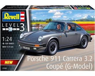 Revell 07688 1/24th Porsche 911 G Model Coupe Car KitNumber Of Parts   Length mm