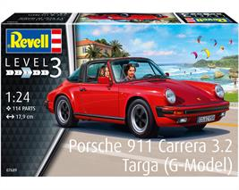 Revell 07689 1/24th Porsche 911 G Model Targa Car KitNumber Of Parts   Length mm