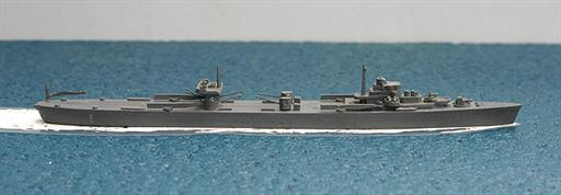Secondhand Mini-ships KB77 IJNS Mizuho a Japanese seaplane carrier 1939 1/1250