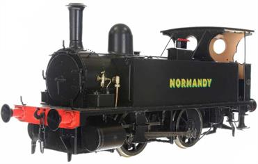 Dapol O Gauge 7S-018-001 L&SWR B4 0-4-0T NORMANDY - AS PRESERVED