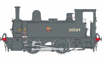 Dapol O Gauge 7S-018-004 B4 0-4-0T BR Early Crest 30084