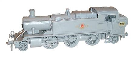 Dapol OO GWR 5101 Class Prairie Tank 2-6-2t Kit C62Moulded in grey plastic.Glue and paints are required