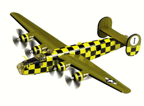 Corgi Consolidated B-24 Liberator You Cawnt Miss It 448th BG 1/72 AA34007