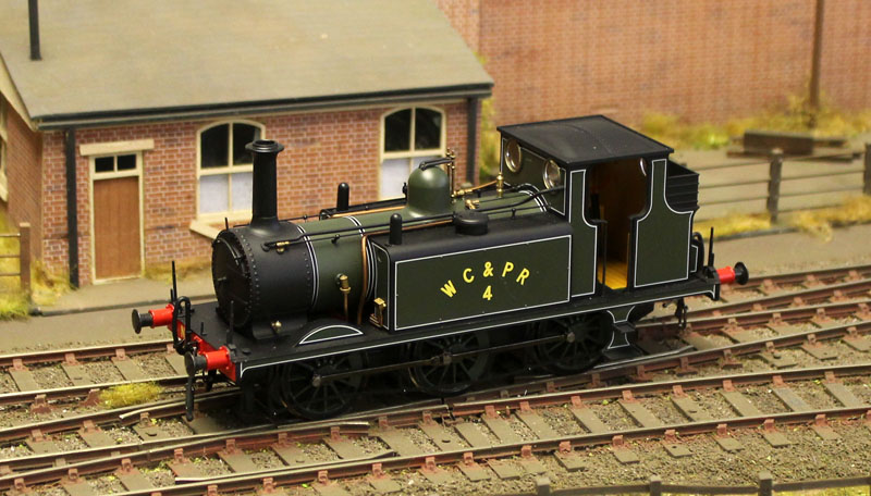 Dapol Terrier A1X Class 0-6-0T Lined Green WC&PR 4 Antics Limited Edition O Gauge ANTSPEC1