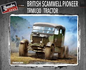 Thunder Model 1/35 British Scammell Pioneer TRMU30 Tractor Kit 35204Glue and paints are required to assemble and complete the model (not included)