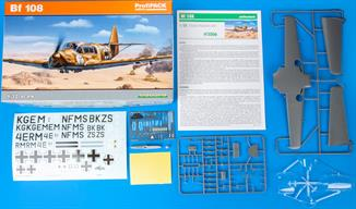 ProfiPACK edition kit of German WWII liasion aircraft Bf 108 in 1/32 scale.