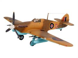 Revell 1/72 Hawker Hurricane MkIIC 04144Length 134mm Number of parts 53 Wingspan 166mmGlue and paints are required
