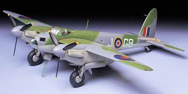Tamiya 1/48 De Havilland Mosquito B Mk.IV/PR MkIV WW2 Aircraft Kit 61066Glue and paints are required