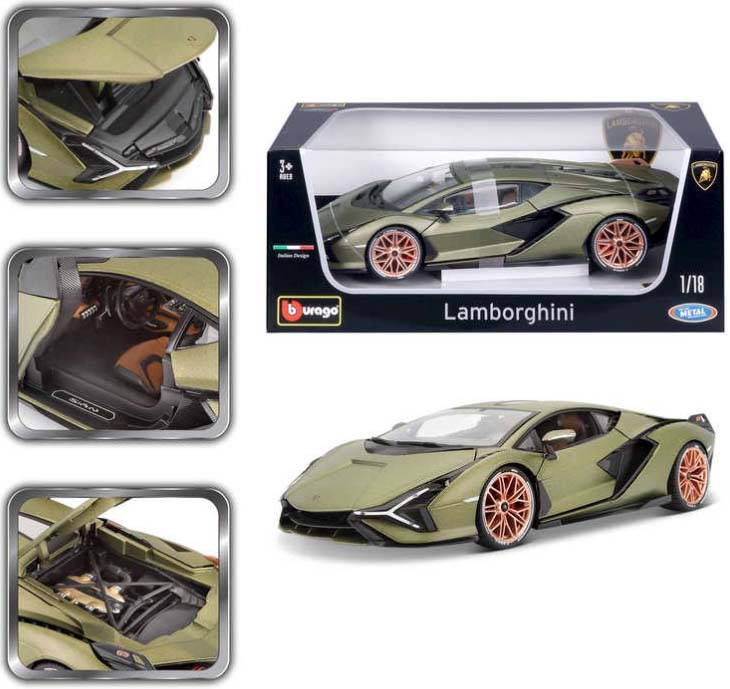 Burago LaFerrari Hybrid Sports Car Model 1/18 B18-16001R