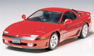 Tamiya 24108 1/24 Mitsubishi GTO Plastic Model KitThis kit builds into a pleasing model of the Mitsubishi Twin Turbo GTO