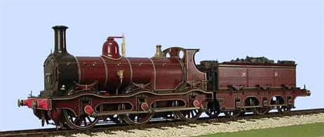 Slaters Plastikard  7L007 O Gauge  MR/LMS Curved Framed Kirtley 0-6-0 Goods (Johnson) Brass Loco KitThis kit includes wheels and Spur Drive Gearbox and Motor 7L001