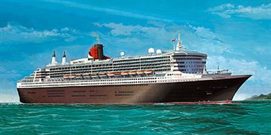 Revell 1/400 Queen Mary 2 Ocean Liner Kit 05223Number of parts 550Model Length 865mmGlue and paints are required