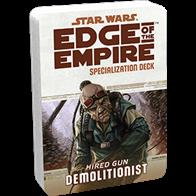 The Demolitionist Specialization Deck keeps the text of your Demolitionist's talents close at hand, allowing you to use them swiftly, rather than pause at critical junctures to look them up.Each Specialization Deck contains:2 cover cards (including a reference guide for each deck)20 standard sized talent cards