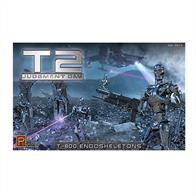 Pegasus Hobbies 1/32 Terminator T-800 Figure & Diarama Set PEG9017Glue and paints are required