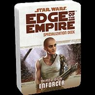 The Enforcer Specialization Deck keeps the text of your Enforcer's talents close at hand, allowing you to use them swiftly, rather than pause at critical junctures to look them up.Each Specialization Deck contains:2 cover cards (including a reference guide for each deck)20 standard sized talent cards