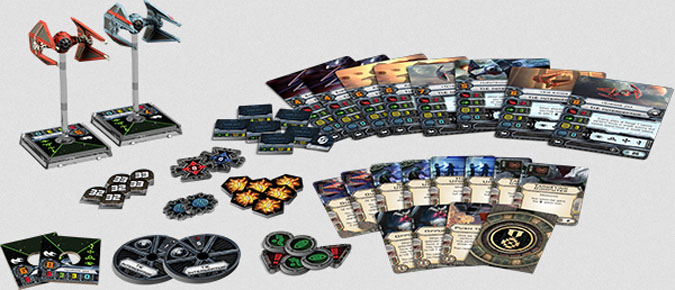 Imperial Aces Expansion Pack from Star Wars X-Wing